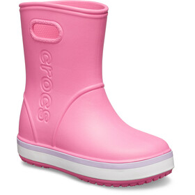 Crocs Crocband Kumisaappaat Lapset, pink lemonade/lavender
